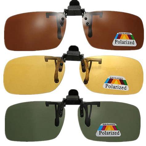 Kacamata Elegan Promo Vision Polarized Clip On Lensa A Sale clip on sunglasses polarized vision glasses lens us 2 99