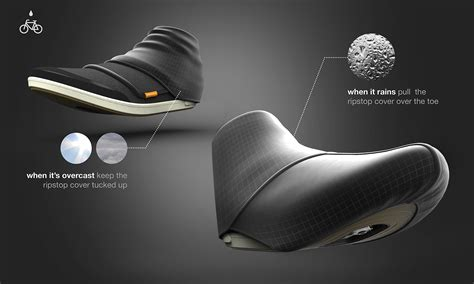 best bike shoe covers design grad wins award with stylish solutions to common