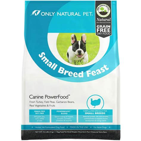 naturals small breed puppy food only pet small breed feast grain free food