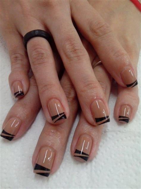 imagenes de uñas pintadas ala francesa manos