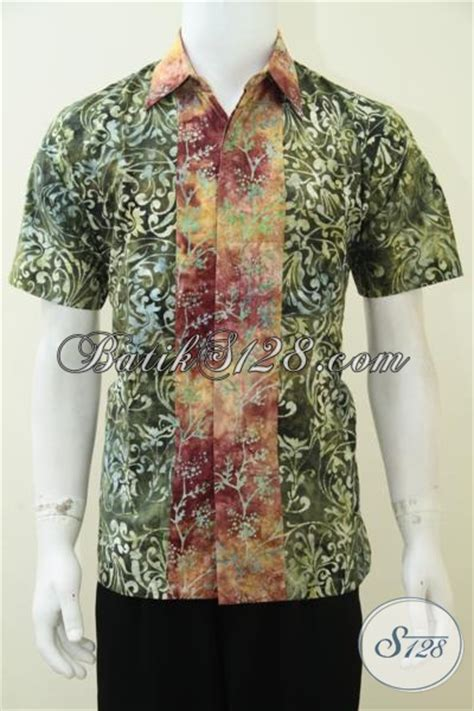 Baju Gaul Remaja baju kemeja remaja pria batik keren maskulin gaul ld2328cs m toko batik 2018