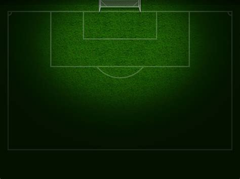 football soccer field free ppt backgrounds for your
