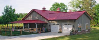 Ohio Pole Barn Kits Morton Buildings With Living Quarters Price Guide Metal