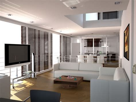 apartment modern home interior design small tv wall units
