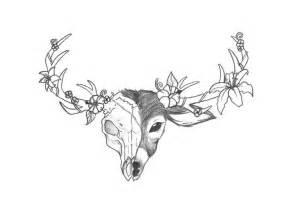 animal head tattoo tumblr deer skull drawing my dear deer pinterest discover