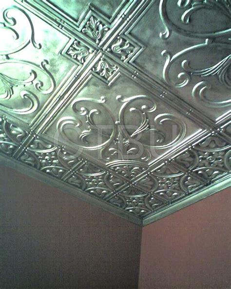 plastic glue up drop in decorative ceiling tiles