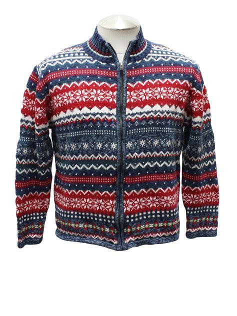 pattern christmas sweater womens ugly christmas sweater mountain lake womens blue