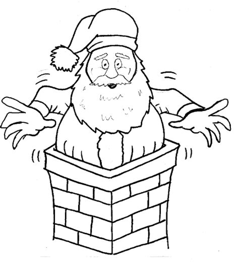 large santa coloring page christmas coloring page print christmas pictures to