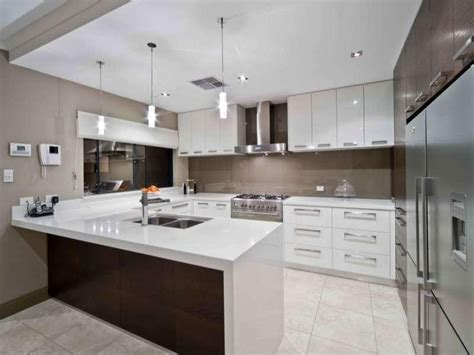 contemporary kitchen design ideas tips ideal u shaped kitchen in modern kitchen interior designs