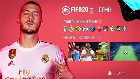 fifa  demo allegedly arriving september
