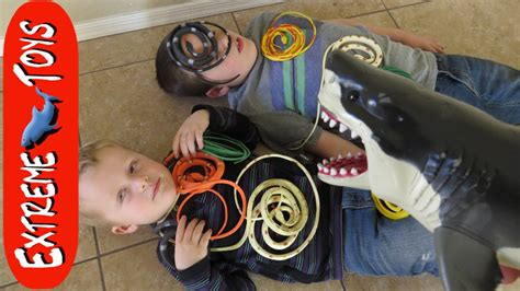haunted doll attacks ethan snakes in a box megalodon shark helps boys fight