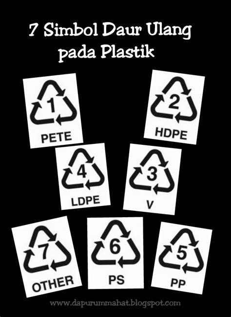 dapur ummahat arti  simbol daur ulang  plastik
