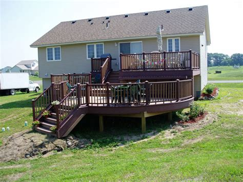 Two Story Homes Home Page Decking Mn