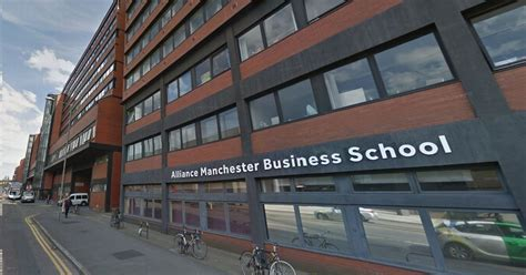 Mba Manchester Basketball by Swastika Daubed On Of Manchester Building