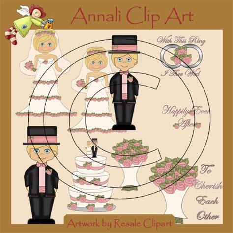 clipart sposi sposi biondi matrimonio clip per decoupage e