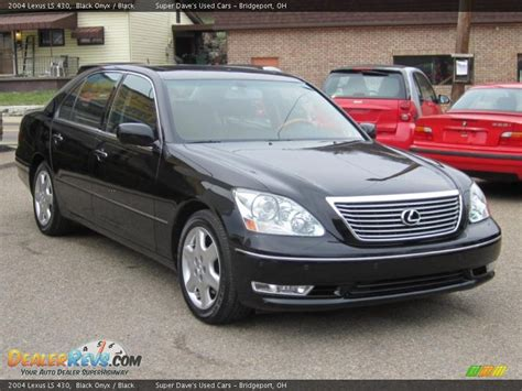 how cars engines work 2004 lexus ls parental controls 2004 lexus ls 430 black onyx black photo 12