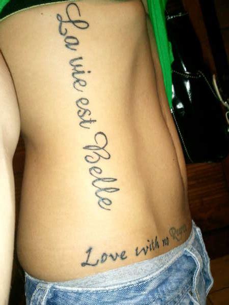 la vie est belle tattoo la vie est
