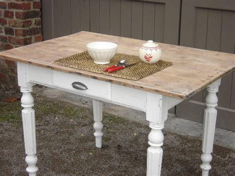 table cuisine blanche tables