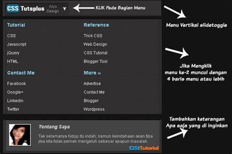 membuat menu dropdown css bertingkat dengan efek jquery mega menu vertikal dengan jquery css tutsplus design