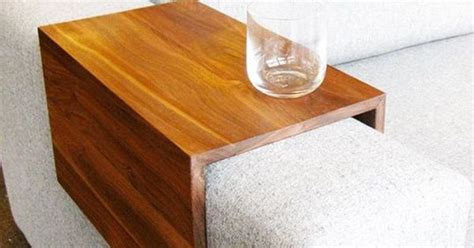 over couch table over sofa arm table craft ideas diy projects pinterest