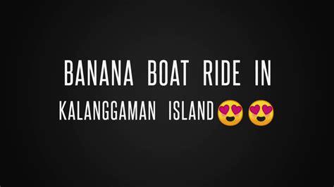 banana boat ride youtube kalanggaman island banana boat ride youtube
