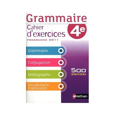 libro cahier dexercices italien grammaire 4e cahier d exercices