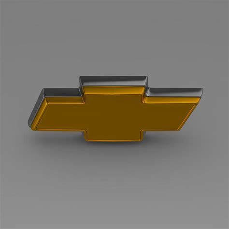 logo chevrolet 3d chevrolet logo 3d model buy chevrolet logo 3d model