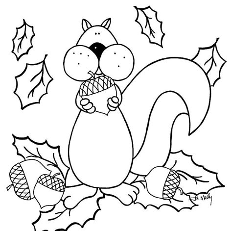 Fall Coloring Pages Free Glum Me Color Pages For