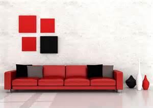 White And Red Interior Design Black White And Red Combination In Interior Design