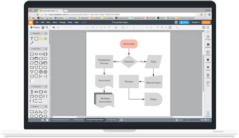 process mapping software free process mapping software lucidchart