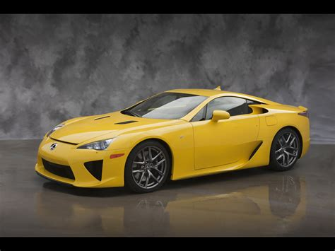 2012 Lexus Lfa Yellow Front And Side 1280x960 Wallpaper