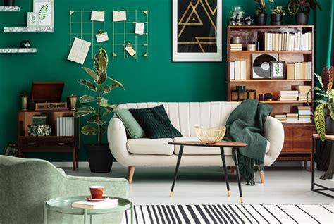 living room design trends bringing  heat