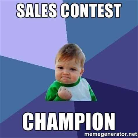 Giveaway Generator Facebook - sales contest chion success kid meme generator