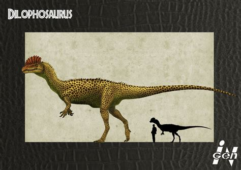 jurassic park a novel b007uh4d3g jp dilophosaurus remake by jelsin on