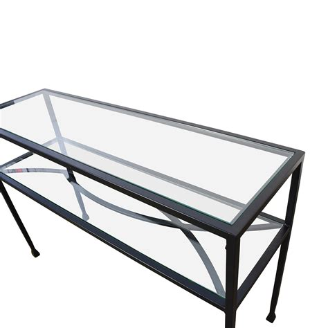 pier one accent tables 84 pier 1 pier 1 glass console or sofa back table