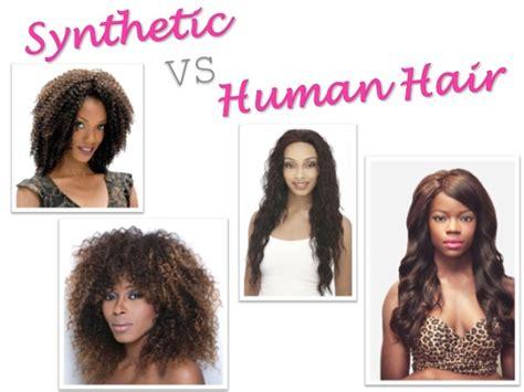 synthetic hair vs real human synthetic vs human hair khairmax