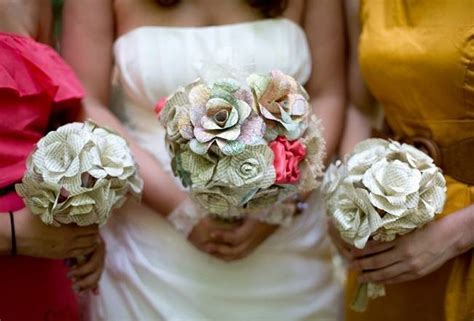 Make Paper Flowers Wedding - paper wedding bouquets