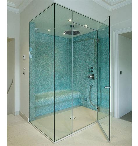 How To Cut Tempered Glass Shower Doors Frameless Glass Steam Rooms Sauna Screens Glasstrends Frameless Shower Doors