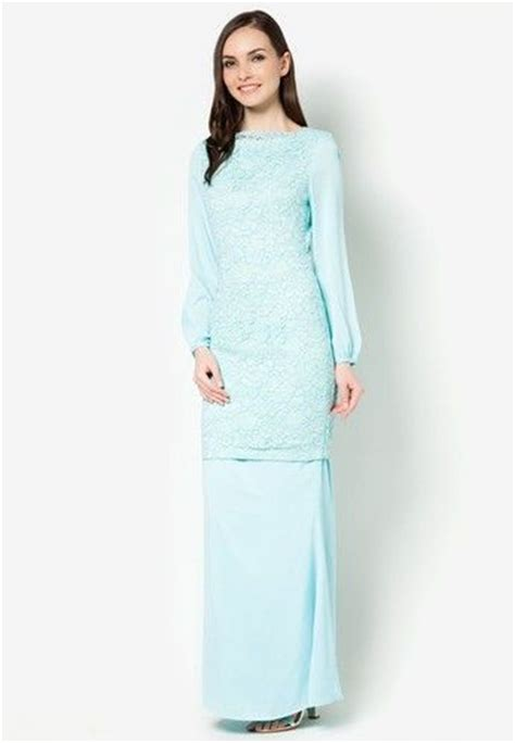 fesyen baju lace chiffon celebrity 66 best images about baju kurung collection on pinterest