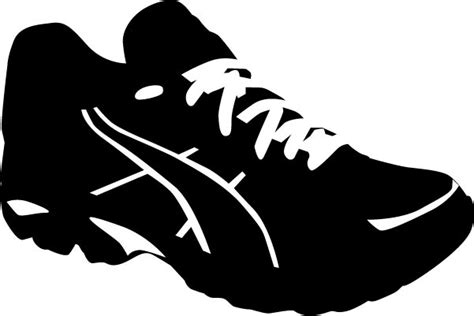 sport shoes vector sport shoes vector silhouettes