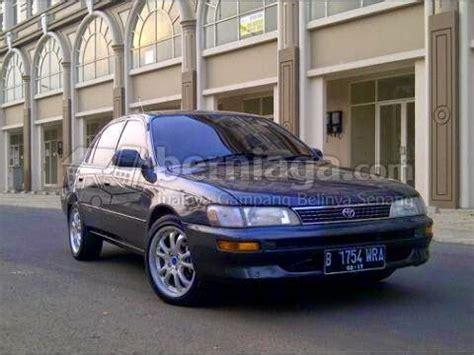 Great Corolla 1995 Seg dijual toyota great corolla 1 5 seg manual 1995 istimewa