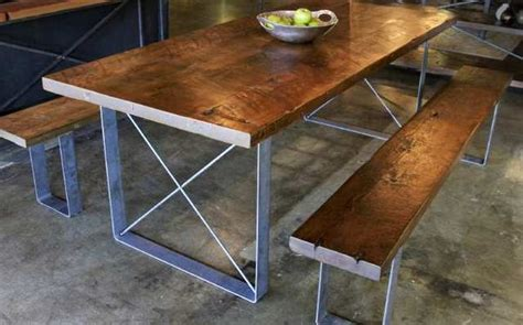 Reclaimed Wood Dining Table Los Angeles House Reclaimed Wood Comes From Afar But This Furniture Maker S Story Is Local Local
