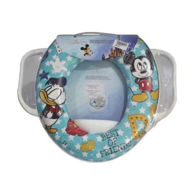 Toilet Soft Baby Potty Seat Handle Karakter Minnie Mouse jual kloset duduk anak terbaru harga murah blibli