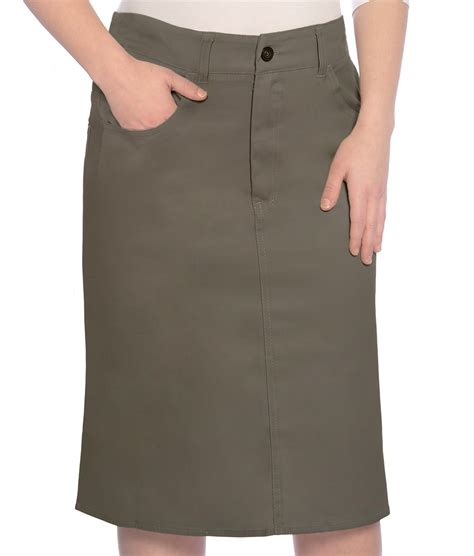 kosher casual s modest knee length twill pencil
