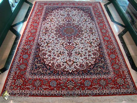 How To Make Handmade Carpets - esfahan eslimi design handmade carpet