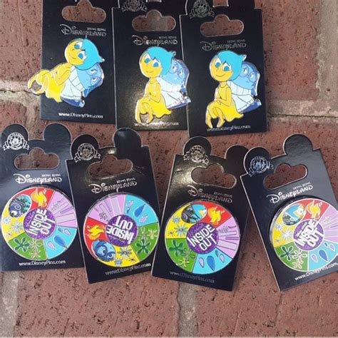 Pin Disney Hongkong hong kong disneyland inside out pins disney pins