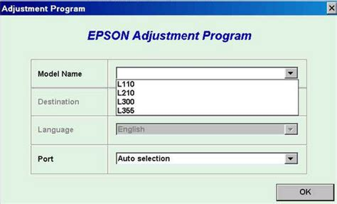 Reset Epson L355 Download Free | driver reset printer epson l210