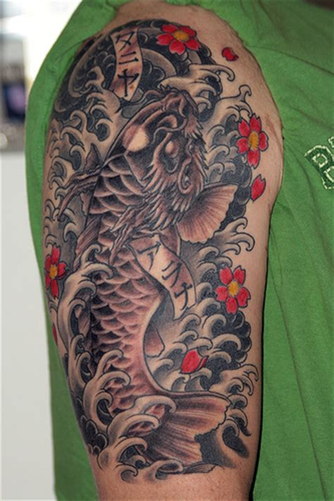 tattoo koi and dragon koi dragon tattoos