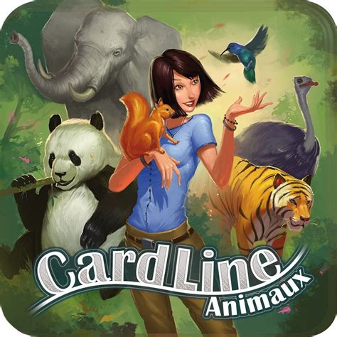 Asmodee Cardline Animaux asmodee cardline animaux made for