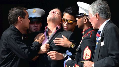 mourners fill church  marines funeral newsday